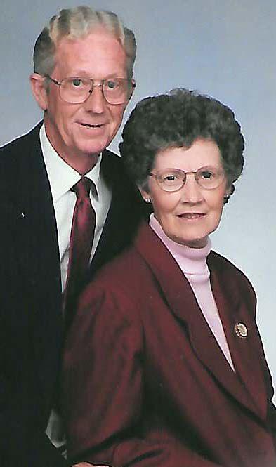 MR. AND MRS. BURL BUMGARNER