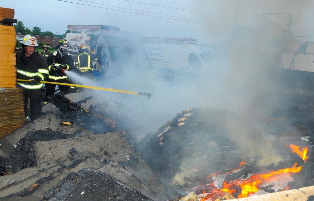 Van Building Materials Burn News Journalpatriot Com