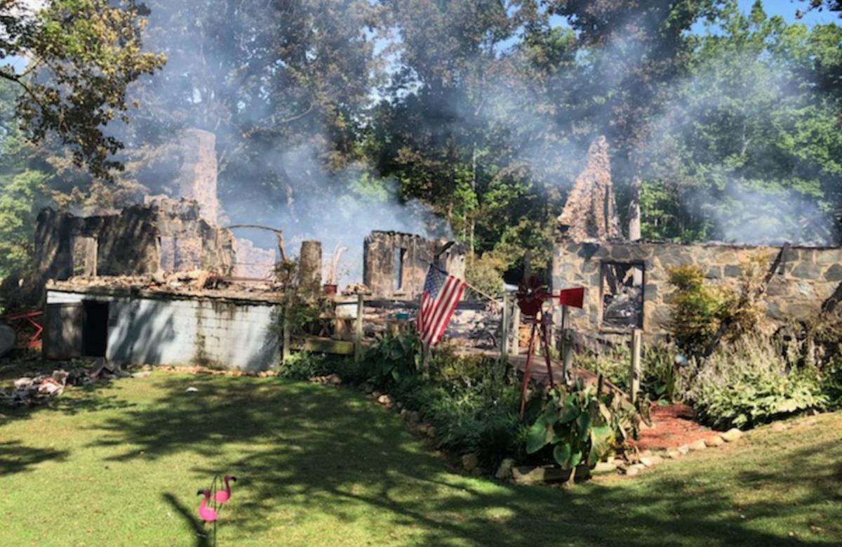 Home destroyed