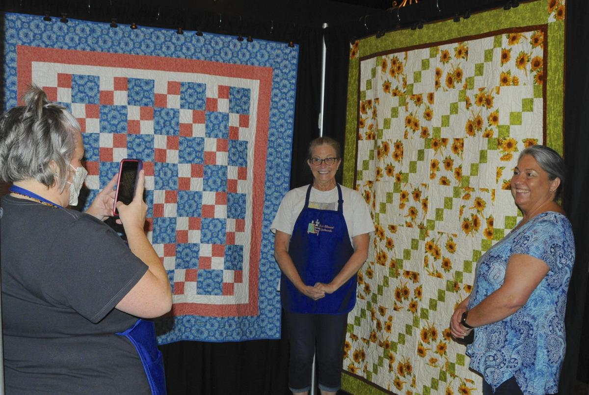 Proud quilters