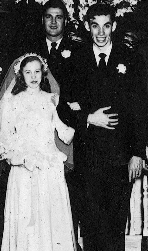 68 years ago...... DICK AND EUTHA HIX