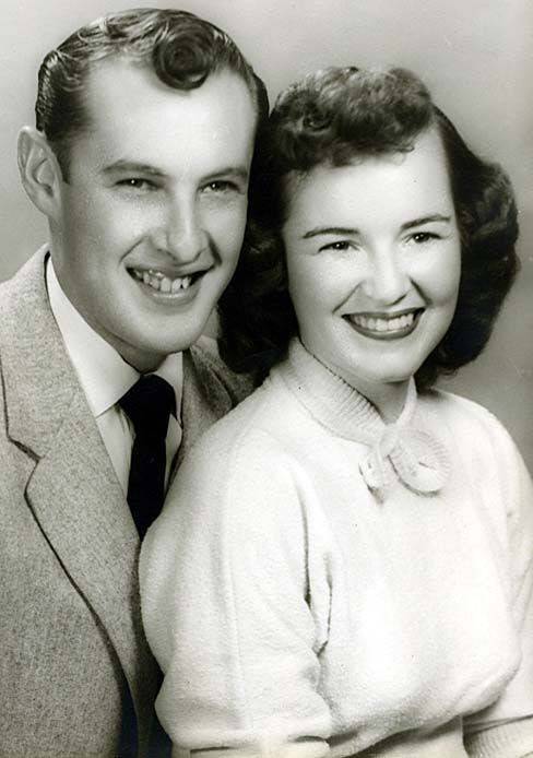 70 YEARS AGO... DAVID AND JOANNE WHITTINGTON