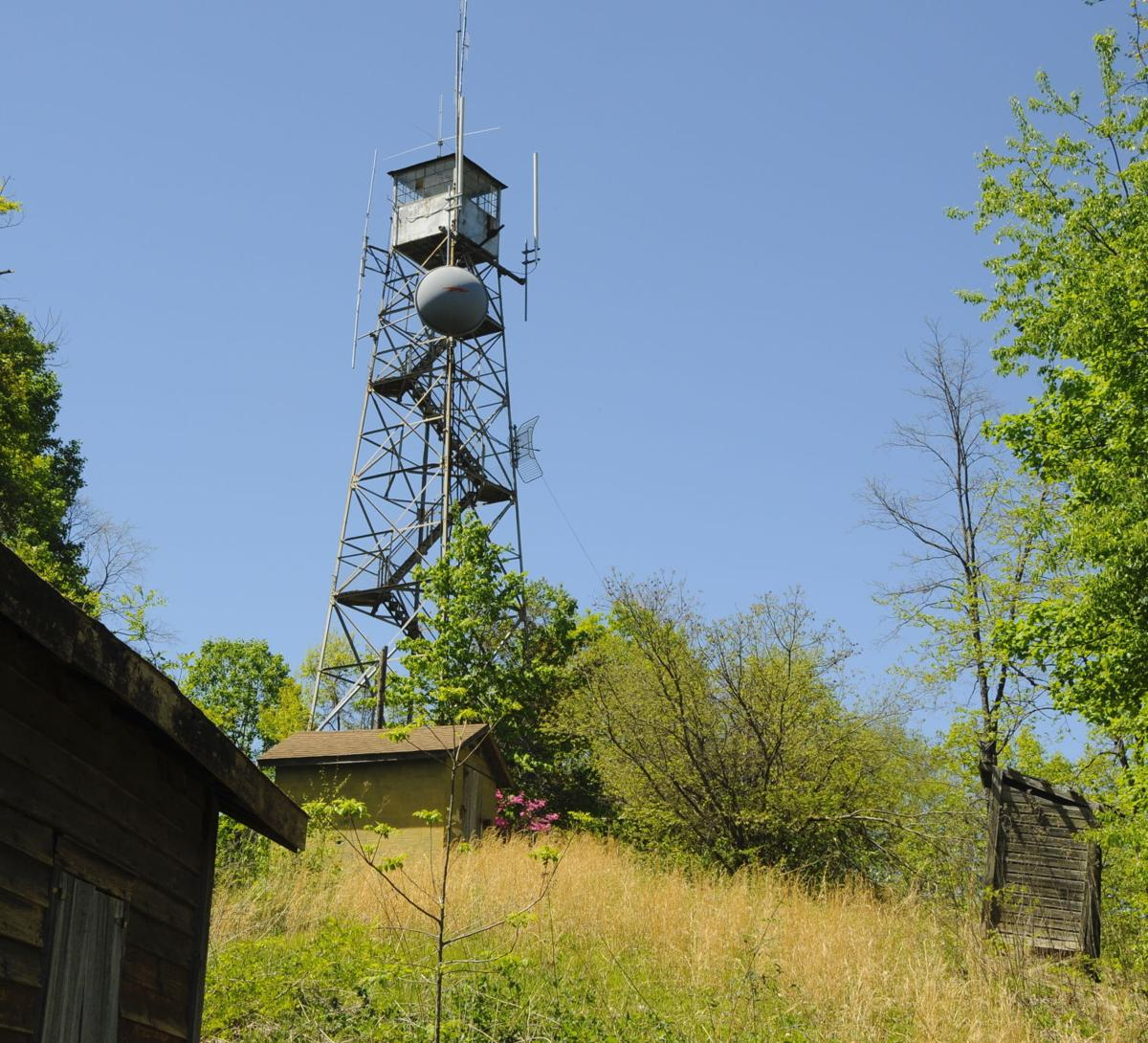 Fire tower on Rendezvous