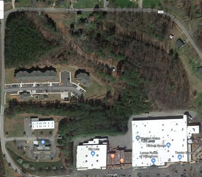 Area where body found