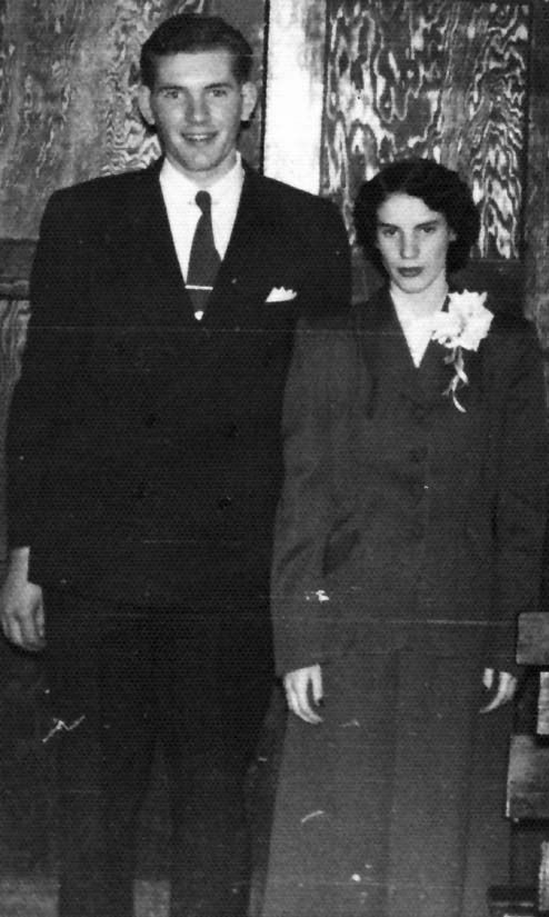 65 years ago...... CLYDE AND ALICE SMITH