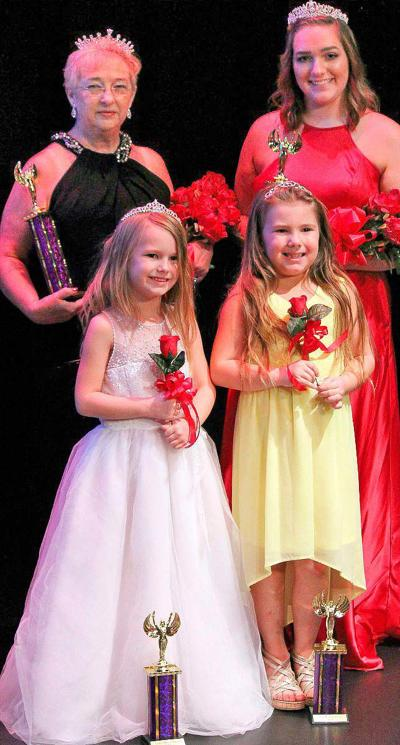 Miss CAG, princess pageant winners