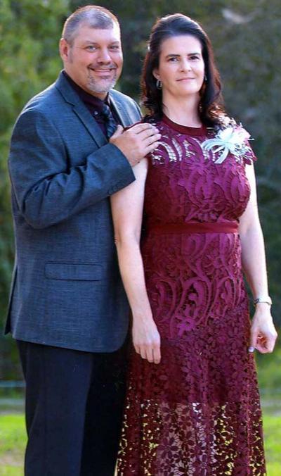 MR. AND MRS. SHANE BLACKBURN