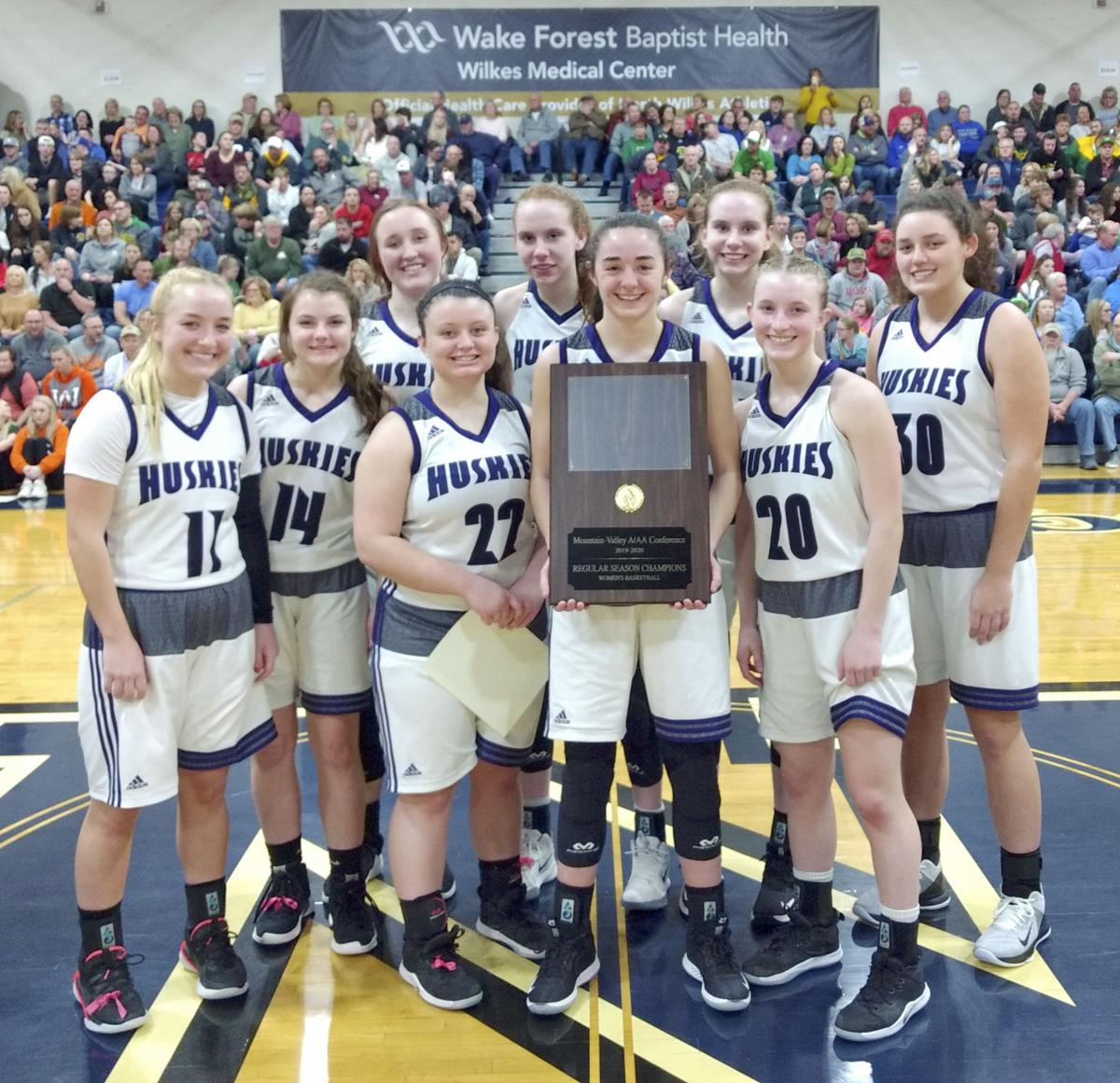 Ashe County girls hoops