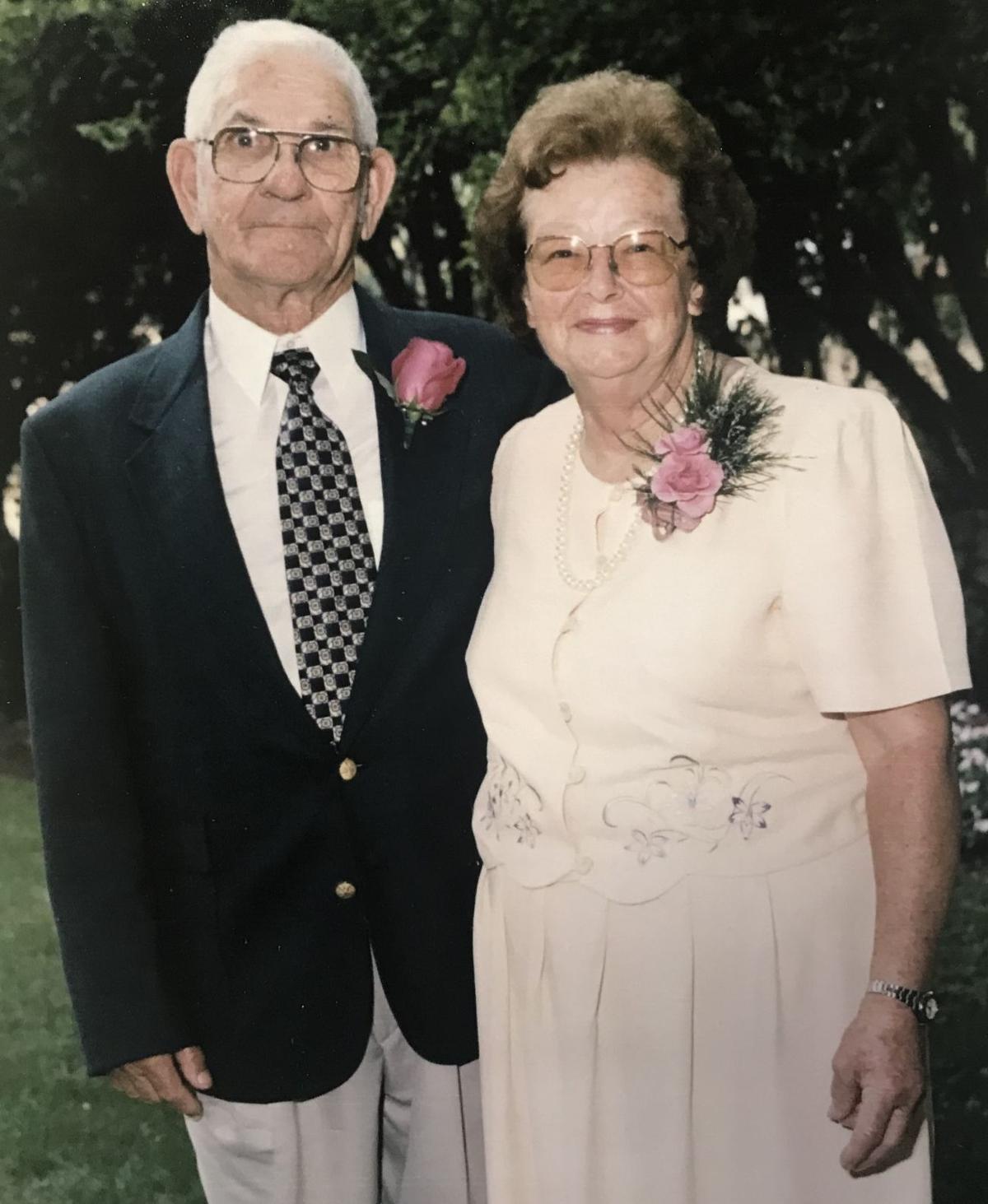 Frank and Mae Baity