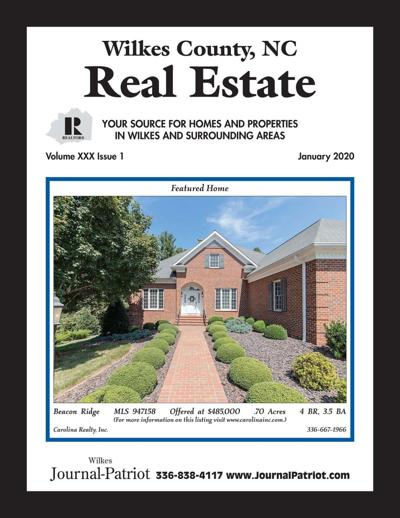 January 2020 Real Estate Magazine Cover