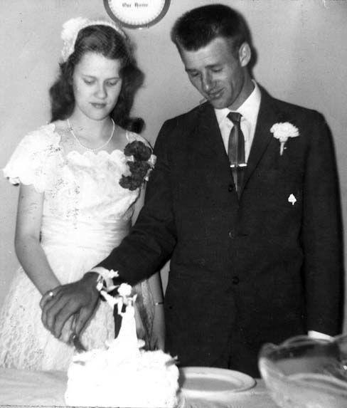 56 YEARS AGO....ARNOLD and DARLEAN DIXON