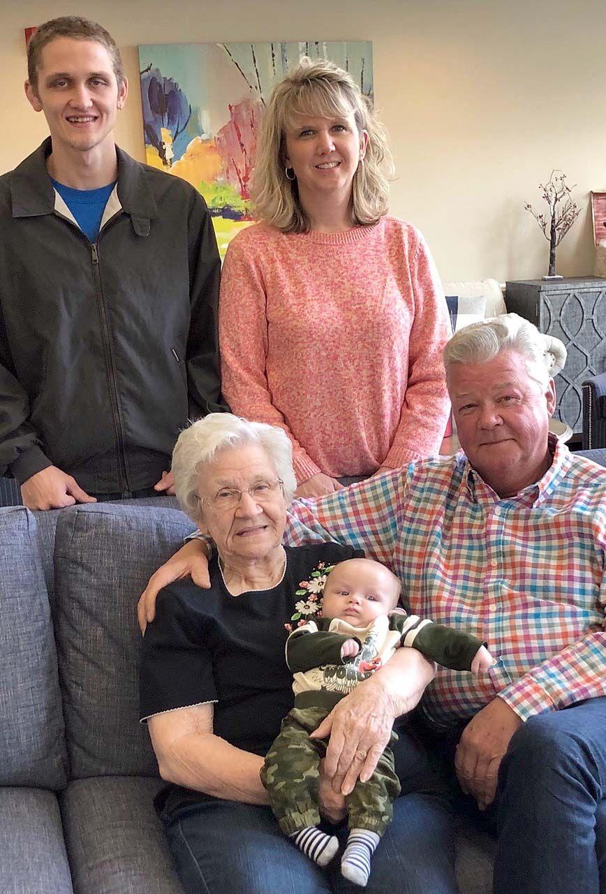 Combs five generations
