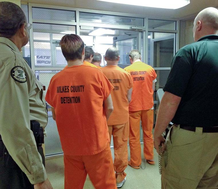 Jail Opens With 114: Inmates Moved From Multiple