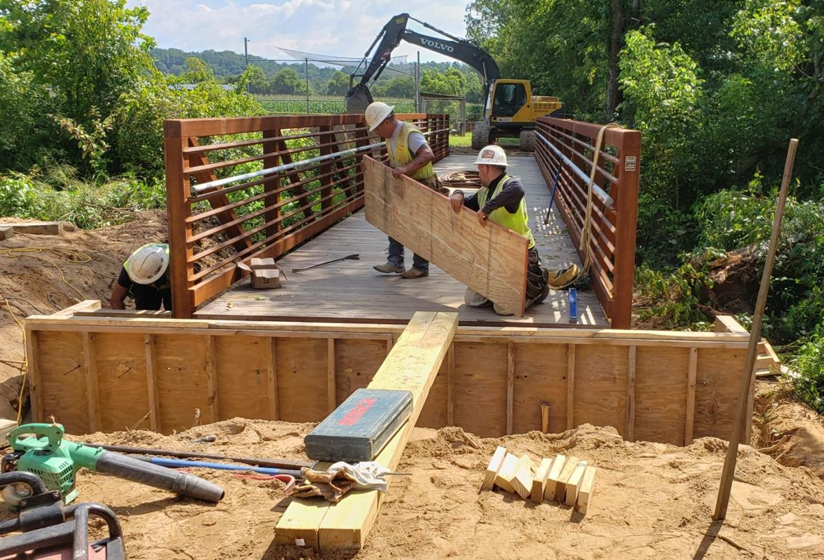 New greenway bridge