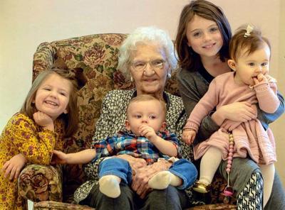PAULINE SLOOP CELEBRATES 100TH BIRTHDAY