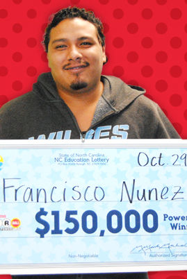 Lottery winner takes home over $100,000   News