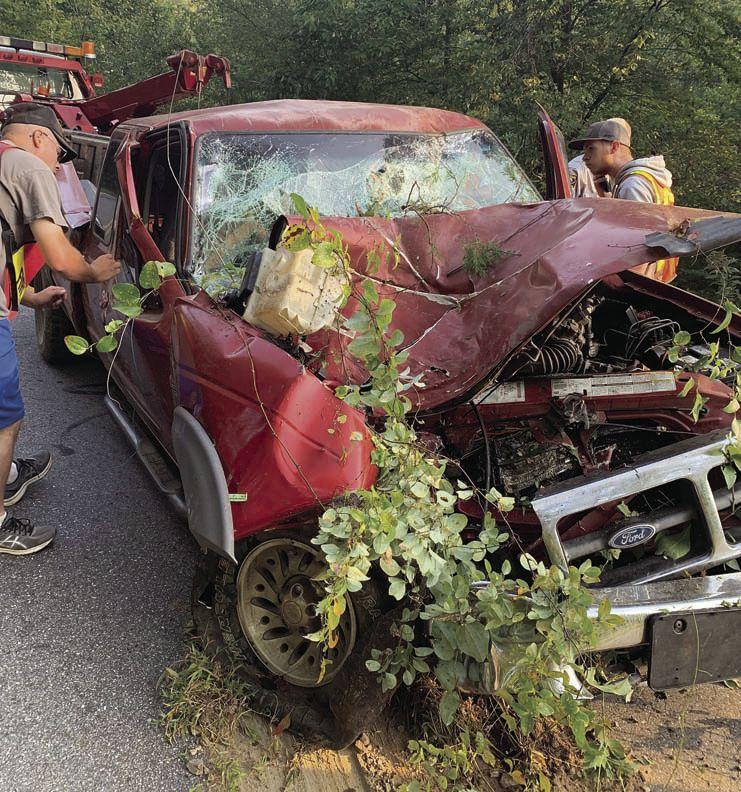 Driver hurt
