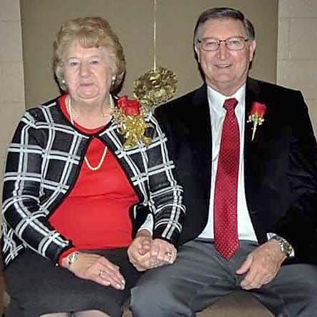 MR. AND MRS. JOE CLONCH