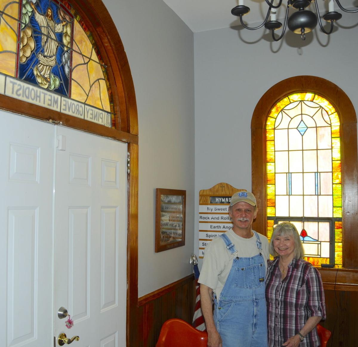 At home in former church