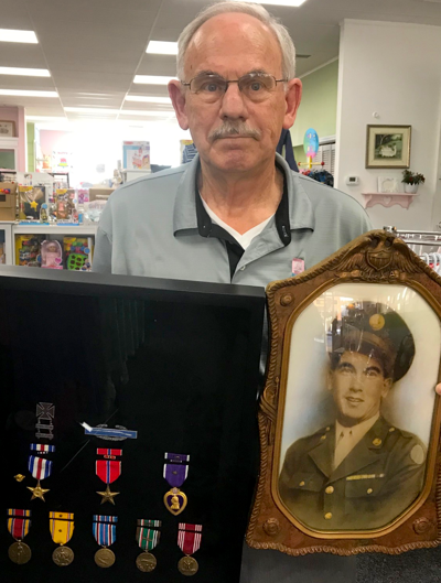 Highly-decorated veteran's son