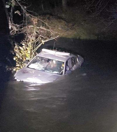 Patrol car in Reddies River