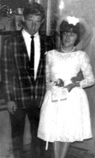 50 years ago....... PAUL MICHAEL AND SHIRLEY DAY WELLS