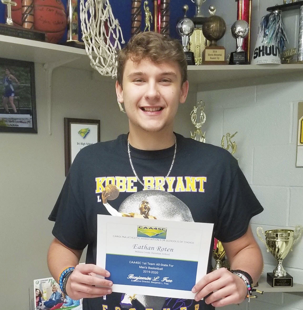 Eathan Roten, all-state