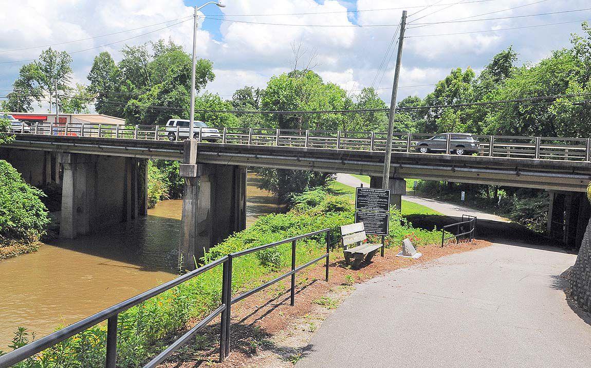Bridge over Reddies River North Wilkesboro