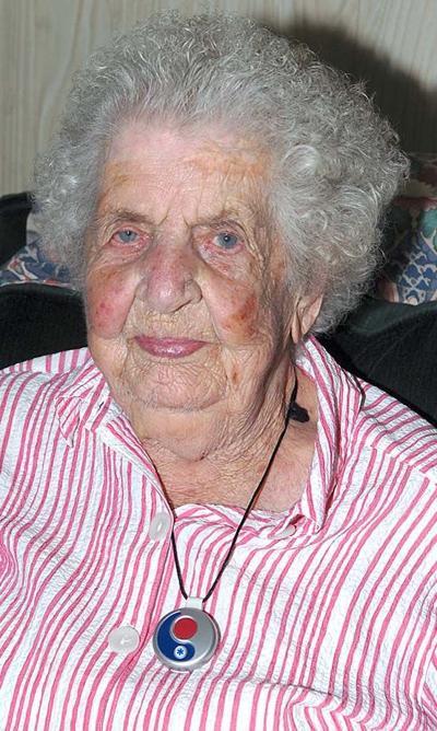 PAULINE ANDERSON turned 100 on Aug. 16.