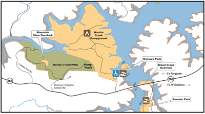 Alternative trail access