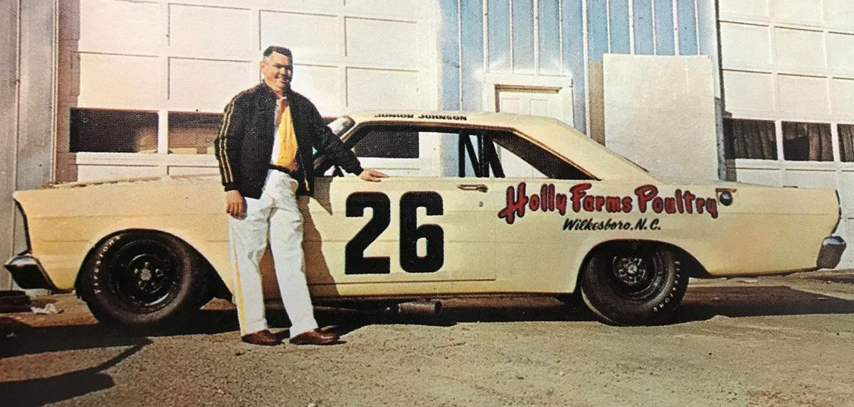 Johnson With 1965 Ford Galaxie