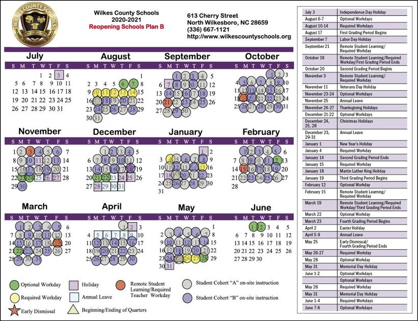 Wilkes County School Calendar 2021-2022 Wallpaper