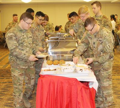 Spiritual leaders gather to support 400 soldiers prior to Middle East deployment