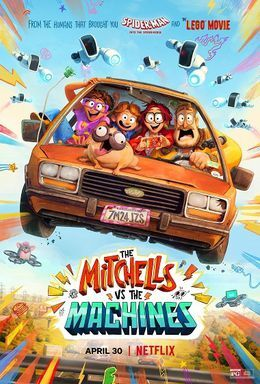 Poster for The Mitchells vs. the Machine