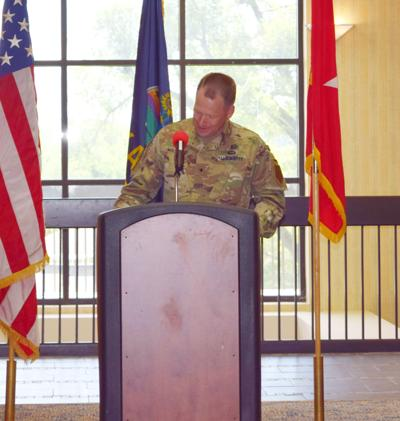Big Red One soldiers getting respect overseas, Wasmund says during MAC luncheon