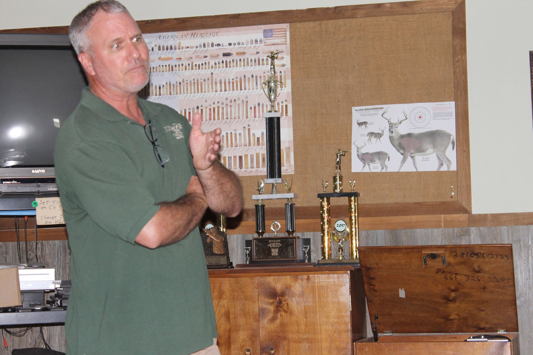 Houck provides update on greater prairie chicken research at Fort Riley
