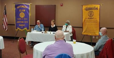 JC Breakfast Optimist Club Learns About The Food Pantry