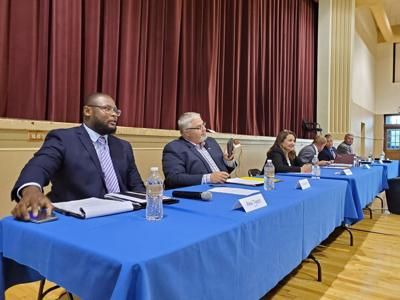 Candidates for county commission answer questions from community at forum Monday