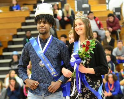 Acheampong and Craft recognized as JC Winter Homecoming royalty