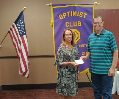 JC Breakfast Optimist Club Guest Speaker Was Kathy Tremont