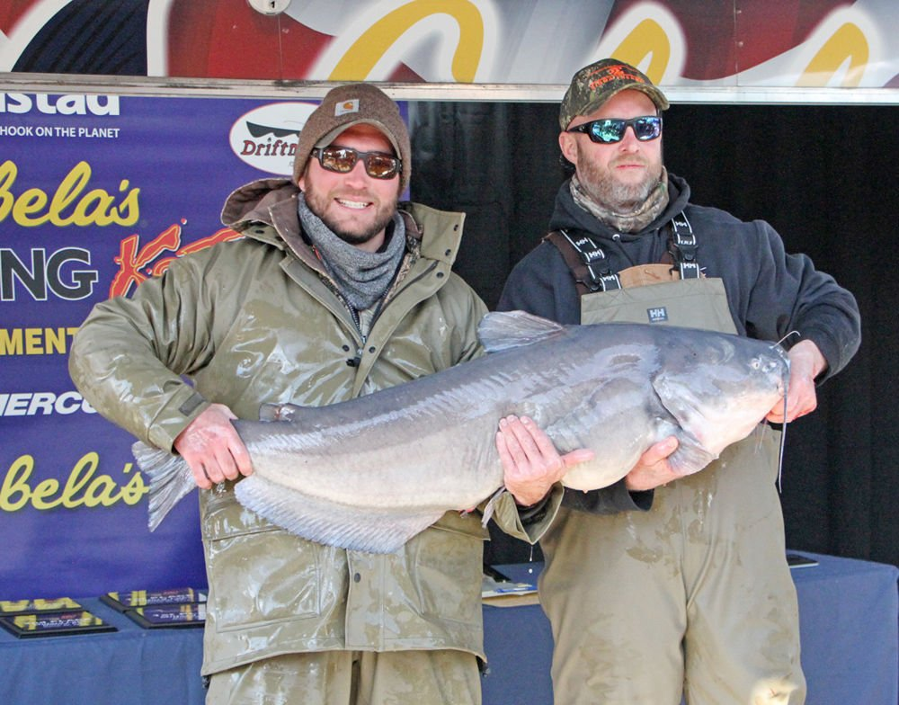 Award winners from Milford's Cabela's King Kat tourney
