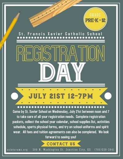 St Francis Xavier Catholic School Registration Day