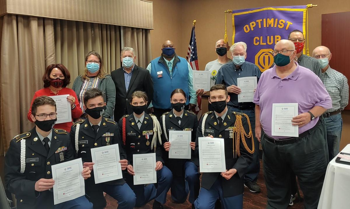 JC Breakfast Optimist Club and JCHS JROTC Participate In America Saves