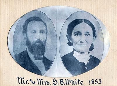 Mr Mrs S.B. White 1855
