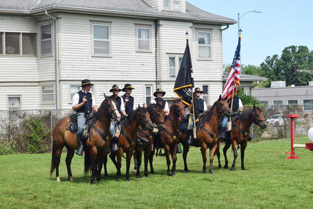 GCHS hosts Mounted Color Guard event at museum