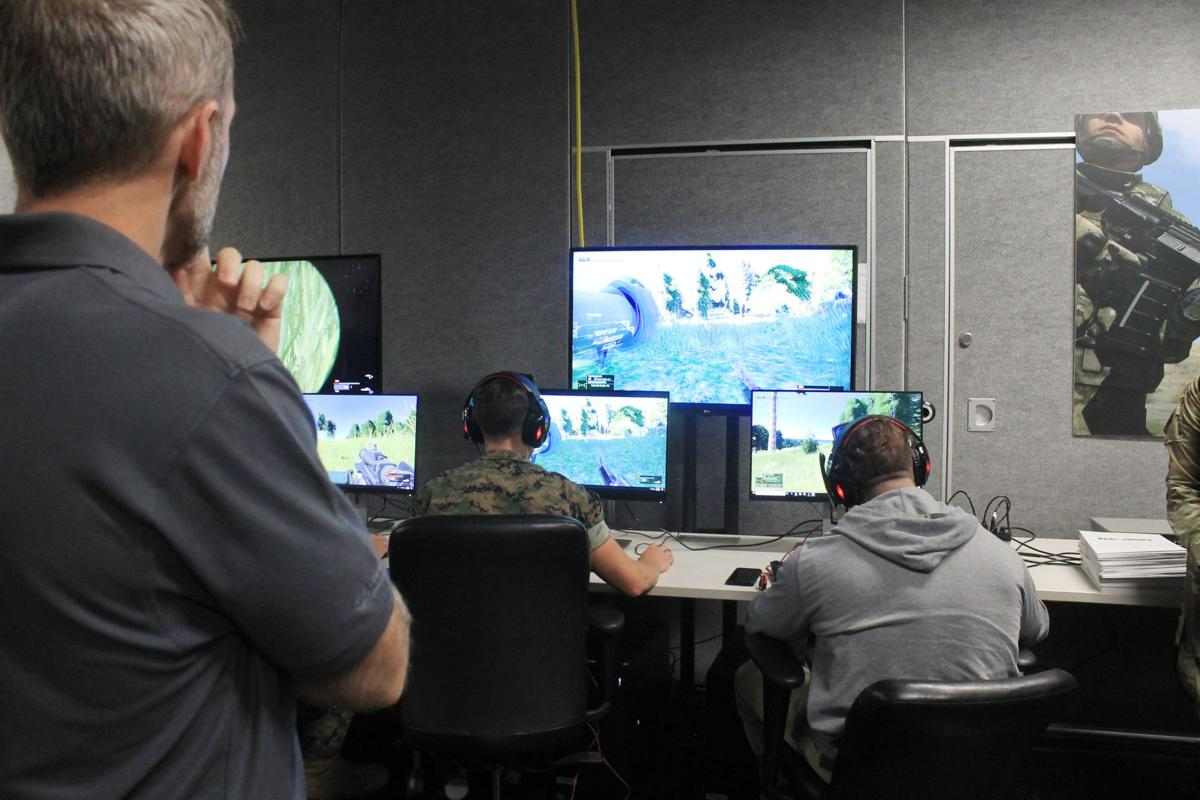 Virtual training similar to video games, but realistic, soldiers say