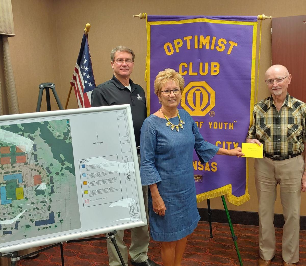 JC Breakfast Optimist Club Guest Speakers Were With The Aging Well Project