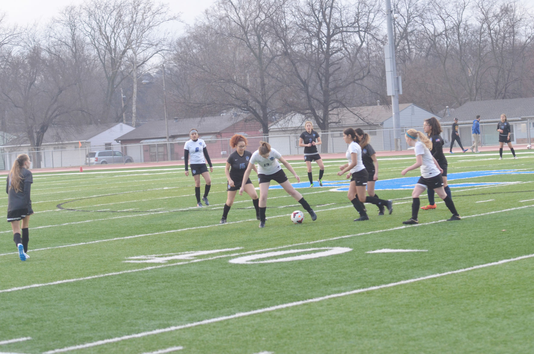 JC girls soccer team welcomes early test