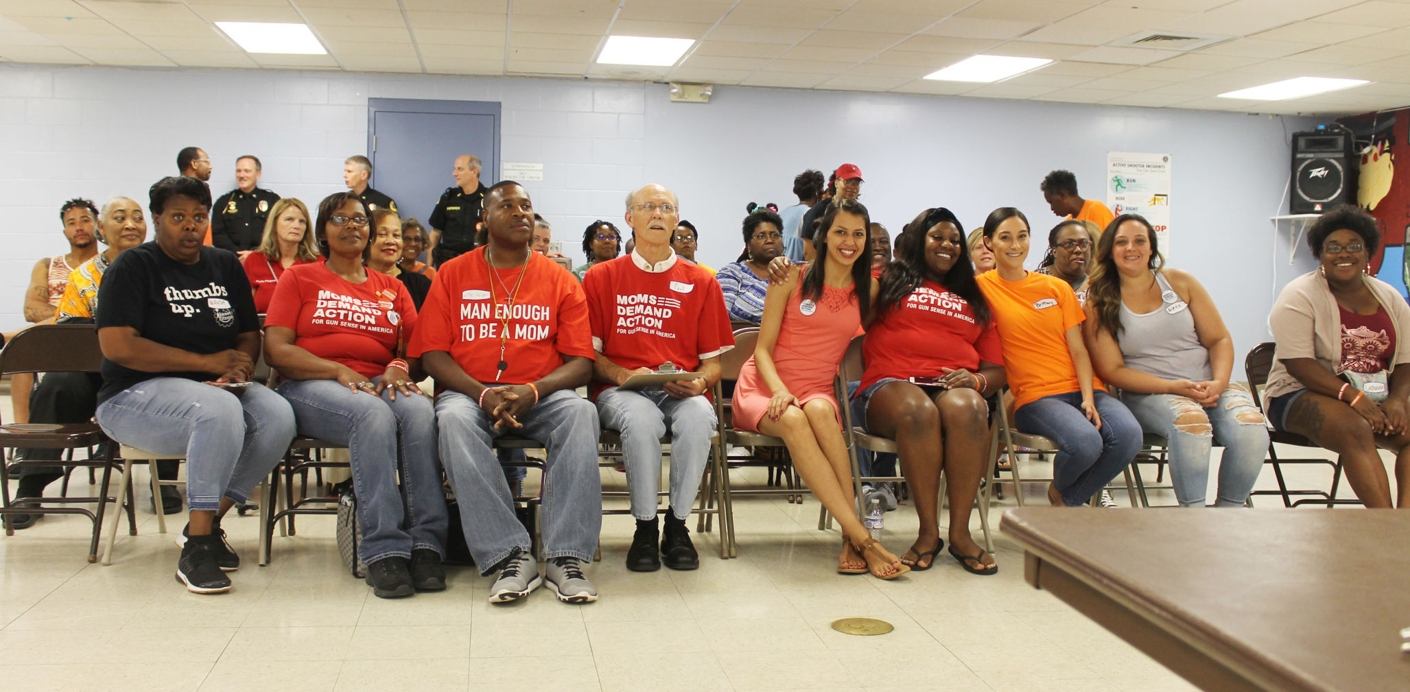 Snipes leads JC's first Moms Demand Action for Gun Sense in America meeting