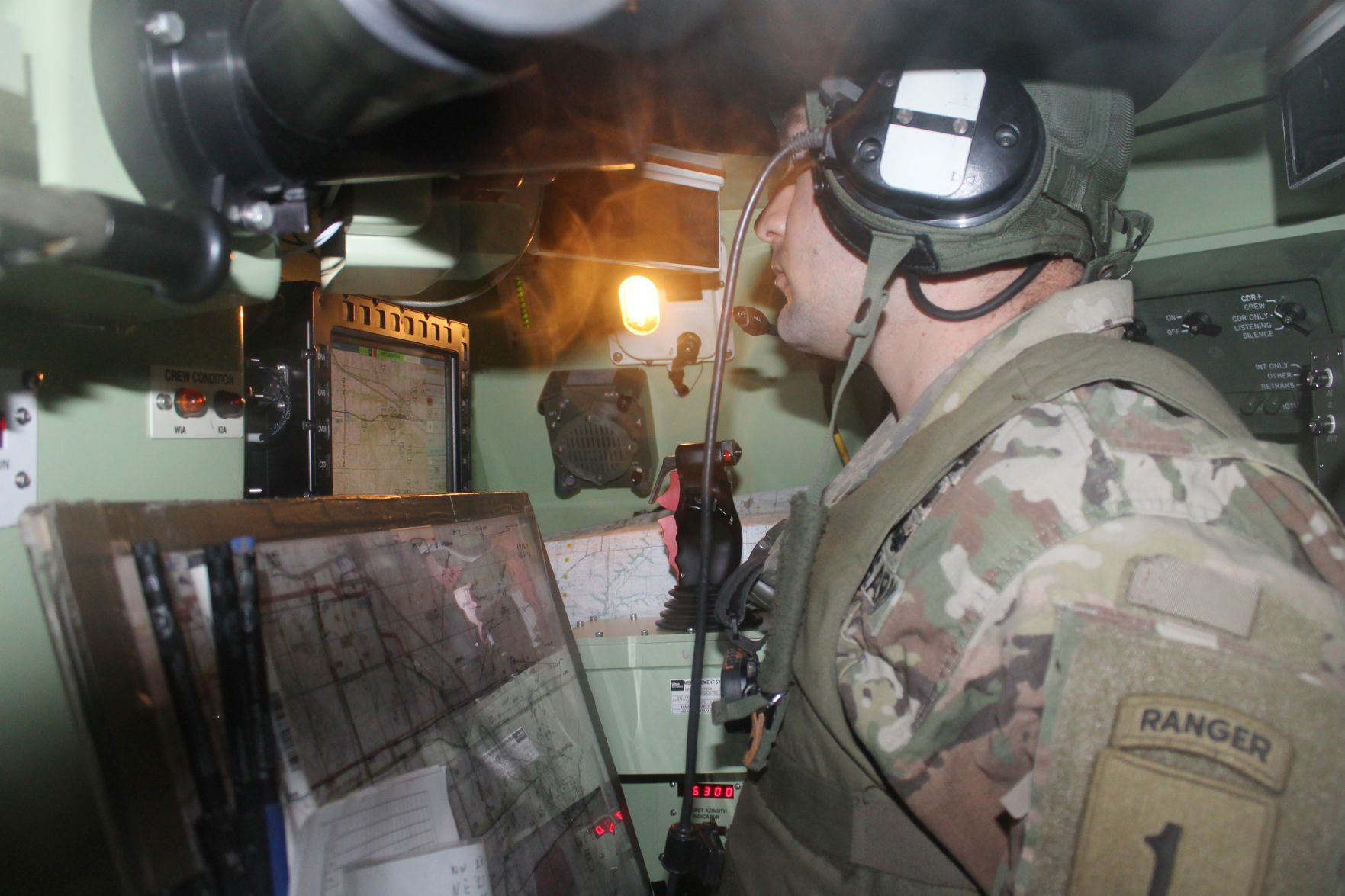 Dagger Gauntlet training concludes with booming tank blasts at Fort Riley